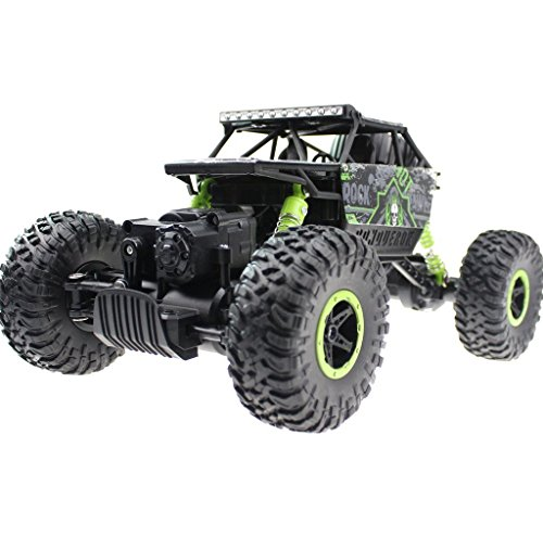 SZJJX P1803 RC Cars, Remote Control Truck, 1:18 Off-Road Vehicle, 2.4Ghz 4WD High Speed Radio Controlled Buggy Crawler Rock Climber-Green
