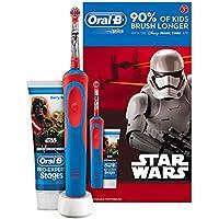 Oral-B Stages Power - Cepillo de dientes eléctrico recargable para niños