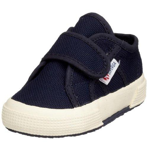 Superga 2750 Bvel, Chaussures Premiers pas mixte bébé, Bleu (933 Navy), 20 EU Bleu (Navy)