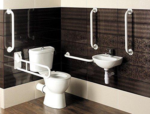 I Care Disabled Bathroom Suite High Doc M Toilet Close