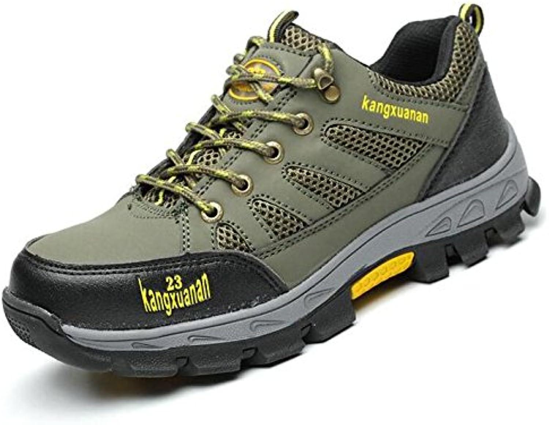 QMBER Turnschuhe Laufschuhe Running Herren Herren Sneaker Schuhe Sportschuhe für Männer Herren Trekking Schuhe