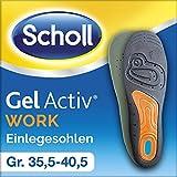 Scholl GelActiv Einlegesohlen Work, Größe 35,5-40,5, 1 Paar