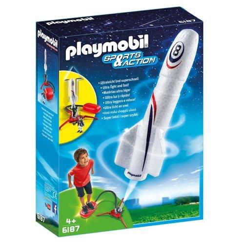 Playmobil - 6187 - Fuse avec plateforme de lancement 4008789061874