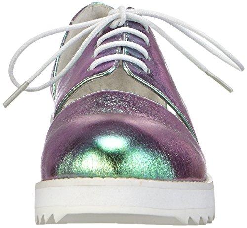 P1 Donna Multi Shoes Oxford Mehrfarbig holo Multicolor Milano AafPwqT