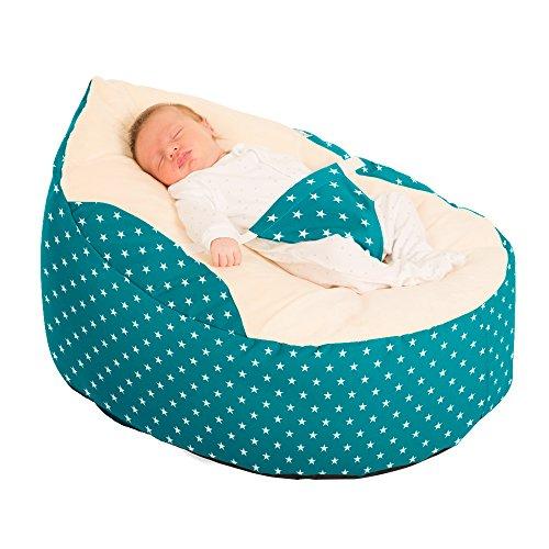 Luxury Cuddle Soft Sterne Baby GaGa Sitzsack Staubbeutel (Jade)
