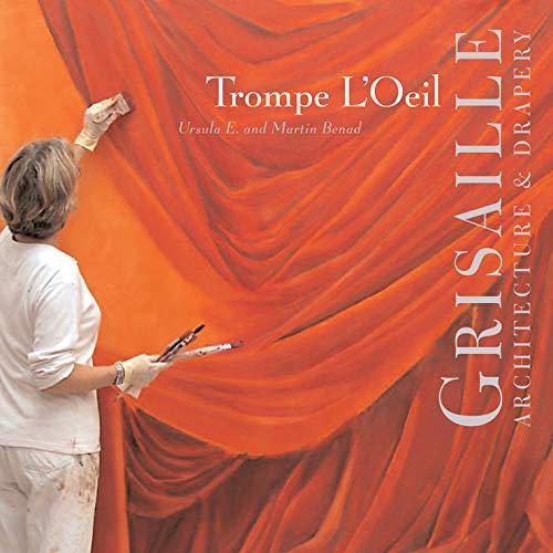 Trompe L'Oeil: Grisaille: Architecture & Drapery: Architecture and Drapery por Martin Benad