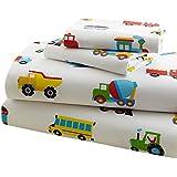 Olive Kids Trains, Planes, Trucks Toddler Sheet Set by Olive Kids