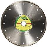 KLINGSPOR 330629 DT 900 FT Diamanttrennscheiben 230 x 2 x 22,23 mm 2 x 7 mm geschlossener Rand Turbo (Inhalt: 1)