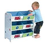 Spielzeugregal Feuerwehr Kinderregal Regal Kinder Box Kinderzimmer Kinderkommode