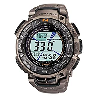 Casio Outdoor Digital Black Dial Men's Watch – PRG-240T-7DR (SL49)