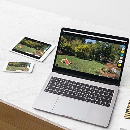 logitech circle 2 wifi berwachungskamera f r zu hause full hd 1080p outdoor indoor. Black Bedroom Furniture Sets. Home Design Ideas