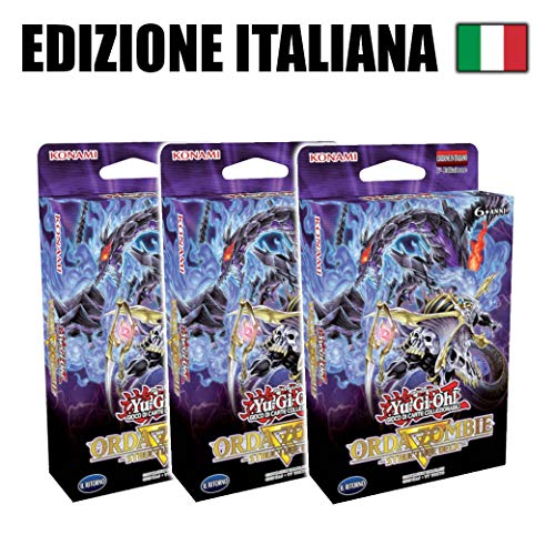 3X Zombie Horde - Yu-Gi-Oh Structure Deck (IT)