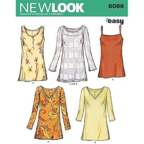 New Look, Cartamodello per magliette e camicie