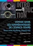 Voyage dans les mathématiques de l'espace-temps: Trous noirs, big-bang, singularités (Une introduction à)...