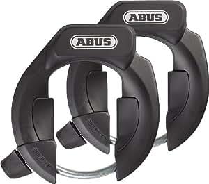 ABUS 4850 LH NKR Bicycle Lock  - Twin Set, Black