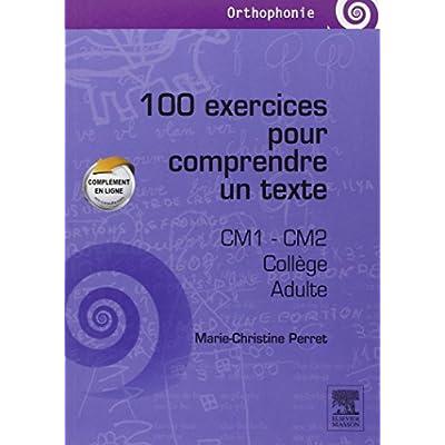 100 Exercices Pour Comprendre Un Texte Cm1 Cm2 College Adultes Pdf Online Free Matthewrandy