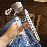 Jacobssen Bruchfeste Wasser-Flaschen-Reise-Leck-Beweis-Sport-Trinkwasser-Flasche 600ML
