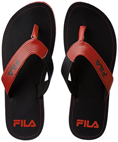 Fila Men's Select Fila Black and Red Hawaii Thong Sandals - 9 UK/India (43 EU)  available at amazon for Rs.769