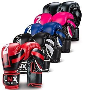 LNX Boxhandschuhe Performance Pro 10 12 14 16 Oz - ideal für Kickboxen Boxen...