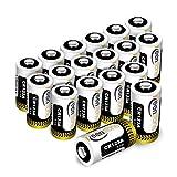 18 St. CR123A CR17345 Batterien, Keenstone 3V 1400 mAh Lithium Einwegbatterie für Taschenlampe, Kamera, Intelligente Instrumentierung, Mikrofone usw. [Nicht wiederaufladbar, Nicht für Arlo]