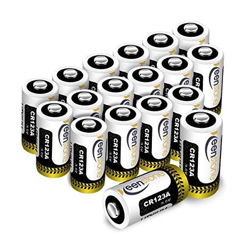 Keenstone Pilas CR123A 3V, 18PCS de batería Litio CR123A 3V - para la Linterna cámara Digital videocámara Juguetes...
