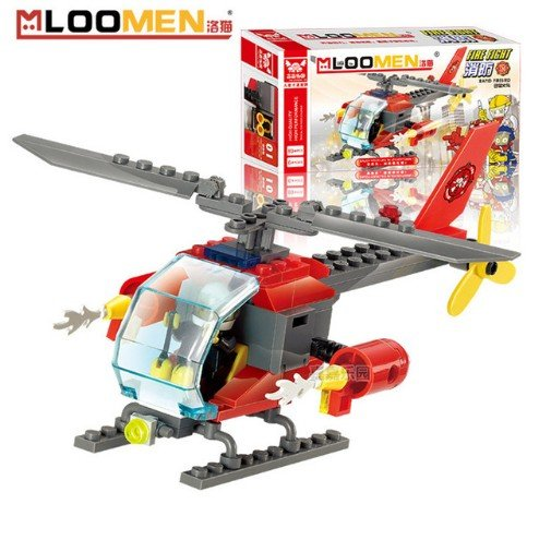 loomen-city-fire-diy-model-building-blocks-helicopters-assemble-toy-early-educational-best-creative-