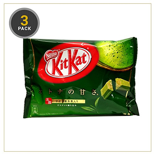 Preisvergleich Produktbild Japanese Kit Kat - Maccha Green Tea Bag 4.91 oz (3 Pack (36))