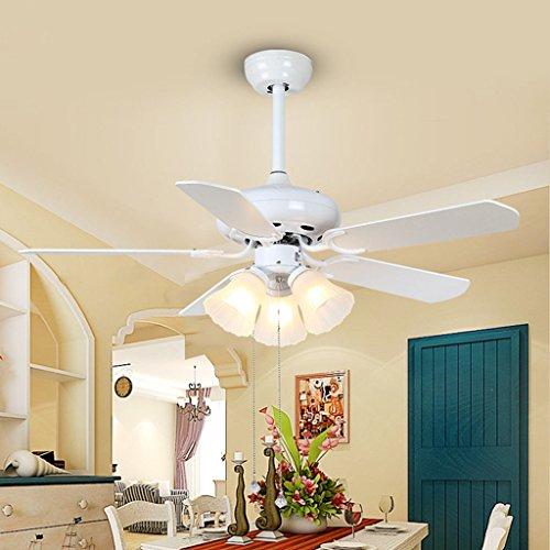 Europäische traditionelle LED-Ventilator Licht 42 Zoll 1070MM Deckenventilator Licht warmen Schlafzimmer Kinderheim Ventilator Kronleuchter (Traditionellen Kronleuchter Licht 4 Den)