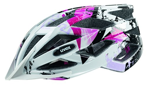 Uvex Fahrradhelm Air Wing, White-Pink, 52-57, 4144260115
