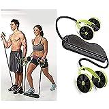 Uteruik Hommes Femme Fitness Préparateur Abdominal ABS Kit De Formation Des Bandes De Résistance Exercice Multifonction Crossfit Exercice...