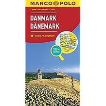 MARCO POLO Länderkarte Dänemark 1:300 000: Wegenkaart 1:300 000 (MARCO POLO Länderkarten)