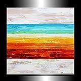 Gemälde abstrakt Horizont handgemalt Zenic