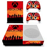 Hytech Plus Rockstar Xbox Special Edition Theme Sticker for Xbox One S Console & 2 Controllers