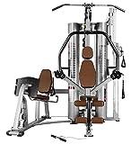 BH Fitness TT200 G157 Kraftstation - Fitnessstation – mehr ALS 15 Übungen – maximale Stabilität - rot
