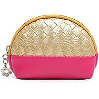 Caso chiave borsa carina Cosmetic Compact mini borsa della moneta del pacchetto della carta grande capacità sacchetto cosmetico di immagazzinaggio ( colore : #1