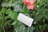 GardenMate® 25er Set Pflanzschilder Poster XL 55 cm aus Metall