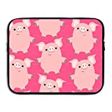 Best Microsoft Gifts Adults - MICOVE Friendly Cartoon Pigs Briefcase Handbag Case Cover Review