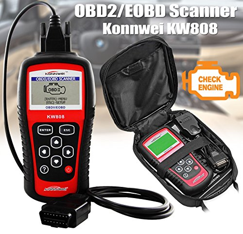 SATKIT Konnwei KW808 escaner Diagnosis Coche OBD2 OBDII Can Bus Auto MULTIMARCA ms509