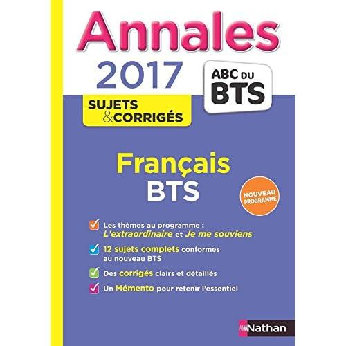 Annales ABC du BTS 2017 Français (31)
