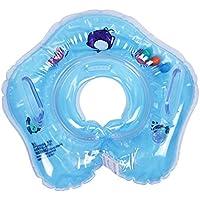 Zerodis Baby Neck Ring Anillo de Natación para bebé Infant Natación Flotador Inflable Anillo Inflable de