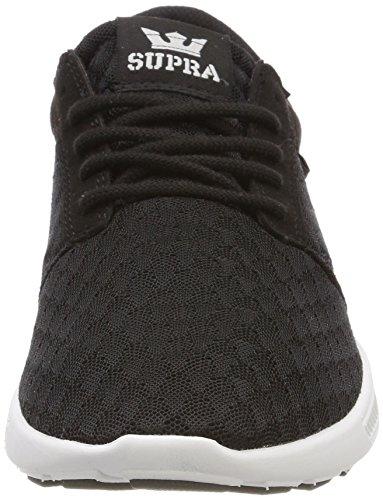 Supra Hammer Run, Sneakers Basses Homme Noir (Black/lt Grey-white)