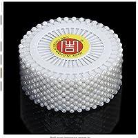 Color Blanco NaiCasy 480/Artificial Perlas Escalera Costura Boda Decoraci/ón Alfileres artesan/ía