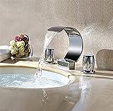 Ensemble de 3 pièces de baignoire, robinet de baignoire en laiton, robinet de salle de bain