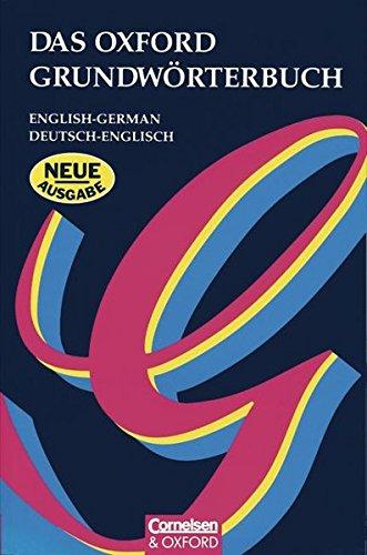 Das Oxford Grundwörterbuch: Wörterbuch: Kartoniert: English-German, Deutsch-Englisch