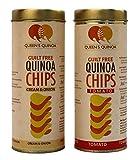 #8: Queens Quinoa CHIPS - 1pc Tomato and 1pc Cream & Onion