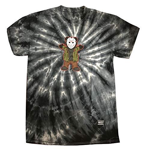 Grizzly Griptape Men's Horror Jason T Shirt Tie-Dye XL