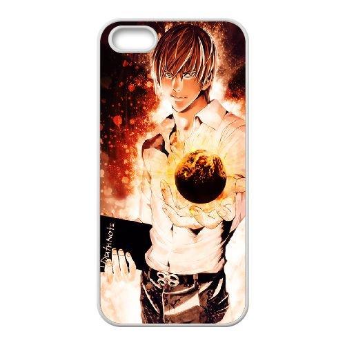 Death Note coque iPhone 4 4S Housse Blanc téléphone portable couverture de cas coque EBDXJKNBO11949