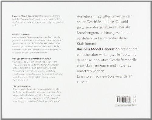 Business Model Generation: Ein Handbuch für Visionäre, Spielveränderer und Herausforderer - 2