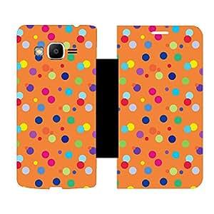 Skintice Designer Flip Cover with hi-res printed Vinyl sticker wrap-around for Samsung Galaxy J2 Prime