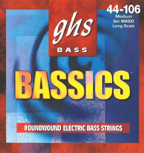 GHS M6000 44 106 MEDIO BASSICS BASS SET CUERDA